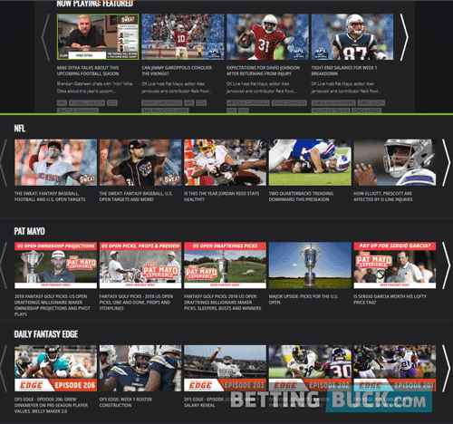 DraftKings TV Videos