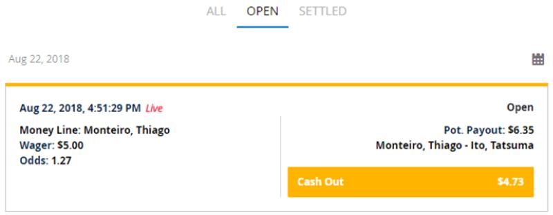 Cash Out Feature