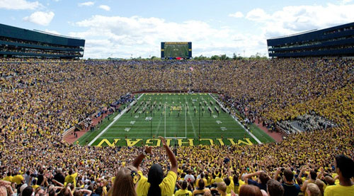 The Big House Stadium