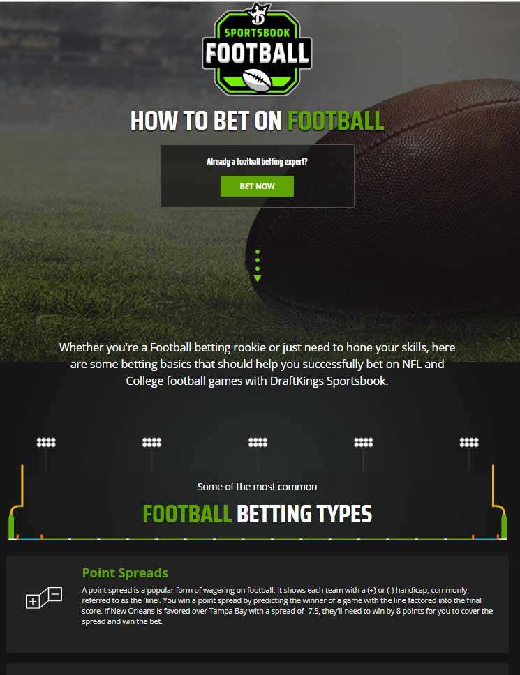 Betting Guides   Football
