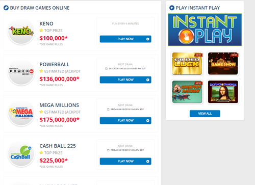 Kentucky Online Lottery