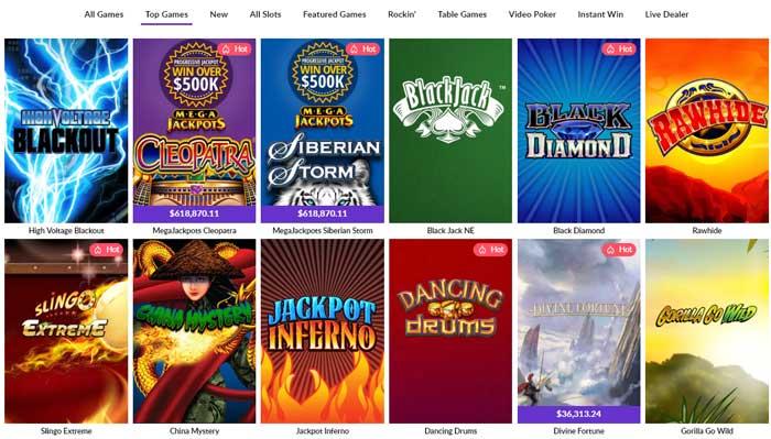 Hard Rock Casino Games