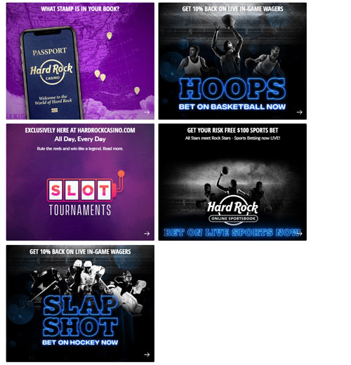Hard Rock Casino & Sports Promotions