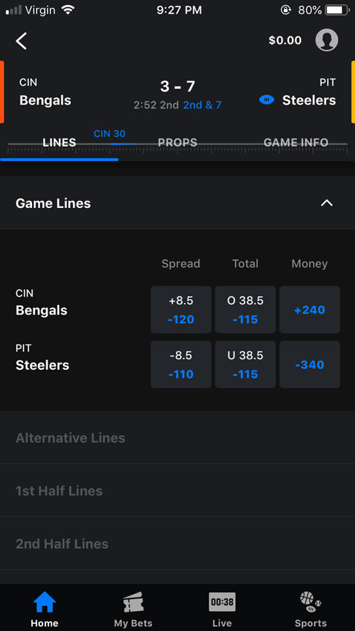 theScore Media App Live Tracker