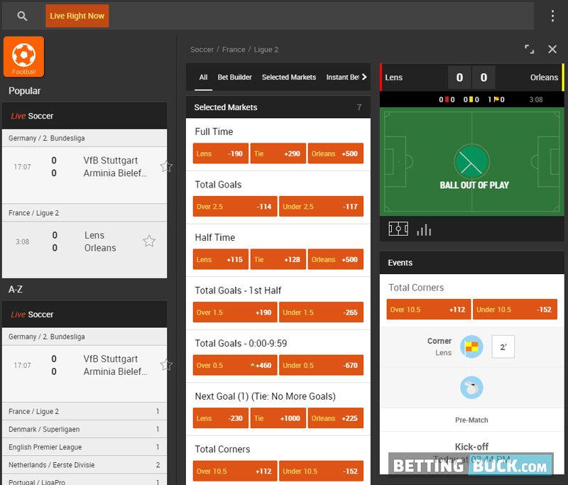 888sport Live betting