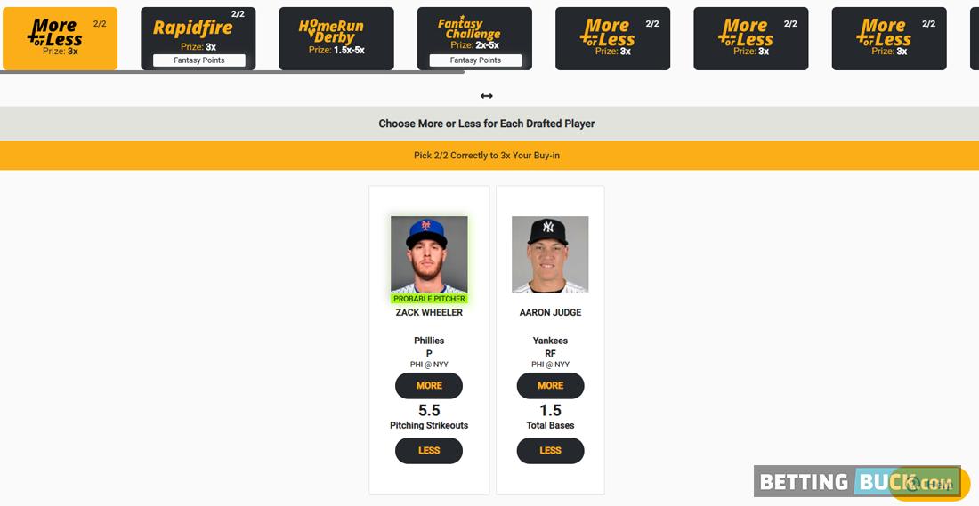 MLB Contest