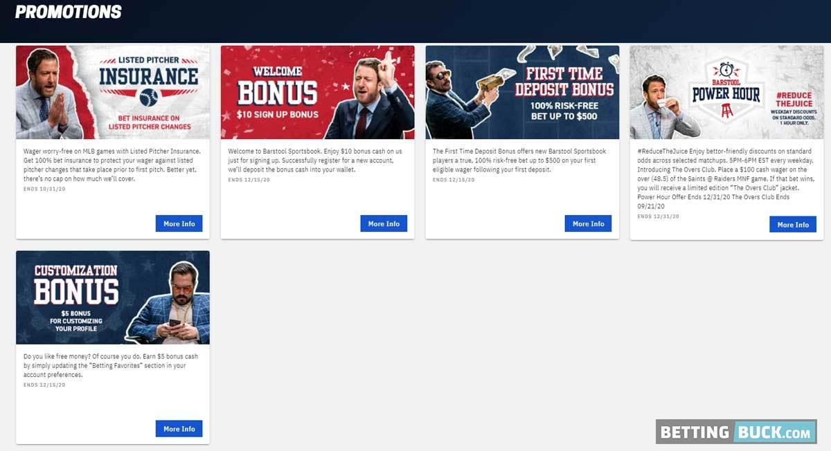 Barstool Sportsbook Promotions
