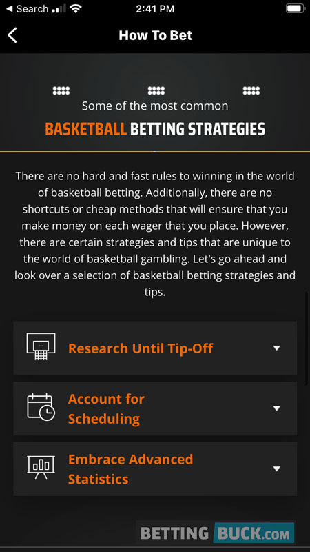 DraftKings Sportsbook Education Strategy Guides