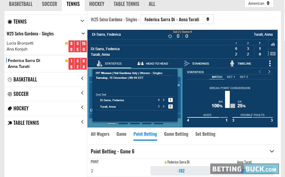 FOX Bet Live Betting Soccer