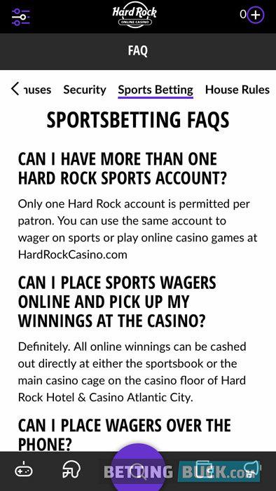 Hard Rock Sportsbook education