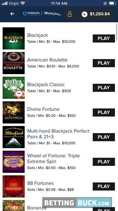 FanDuel Sportsbook casino