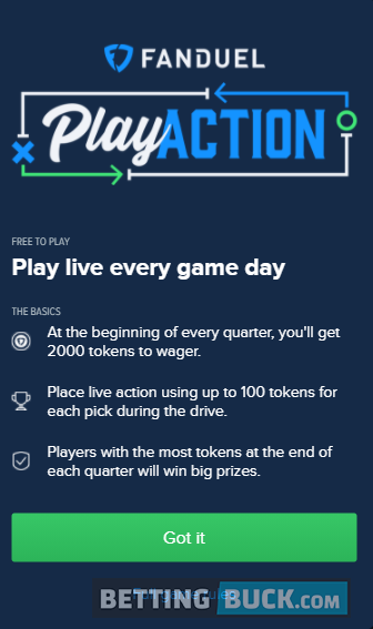 FanDuel Sportsbook PlayAction rules