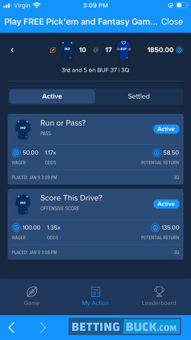 FanDuel Sportsbook PlayAction contest